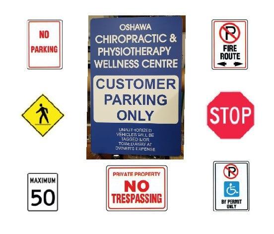 Regulation, Traffic, and Aluminium Signs