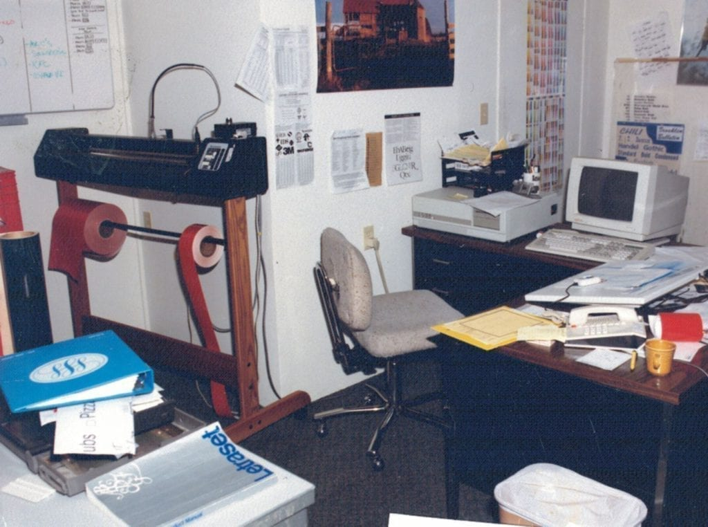 Brooklin Signs Office 1987