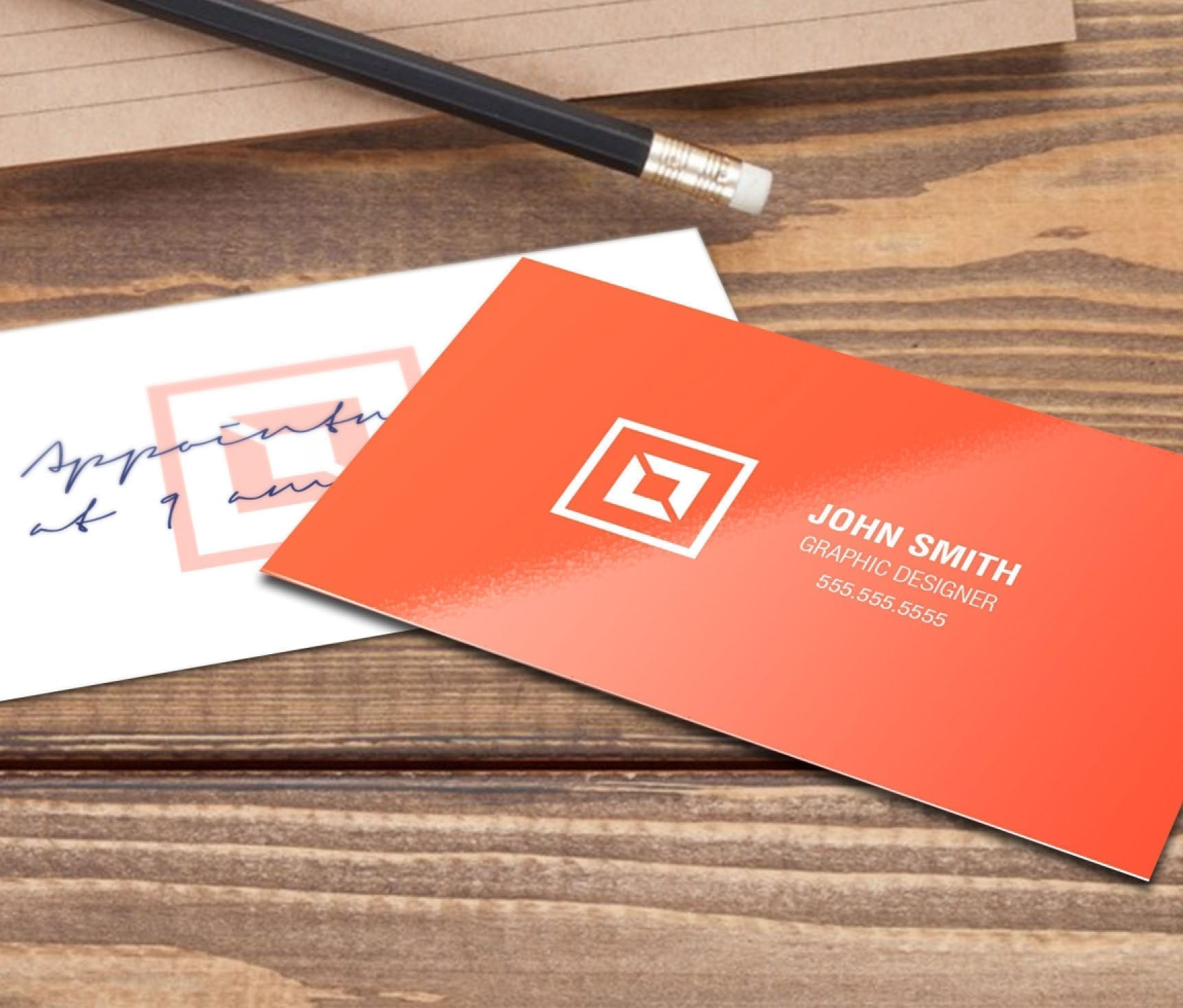 writeable business cards