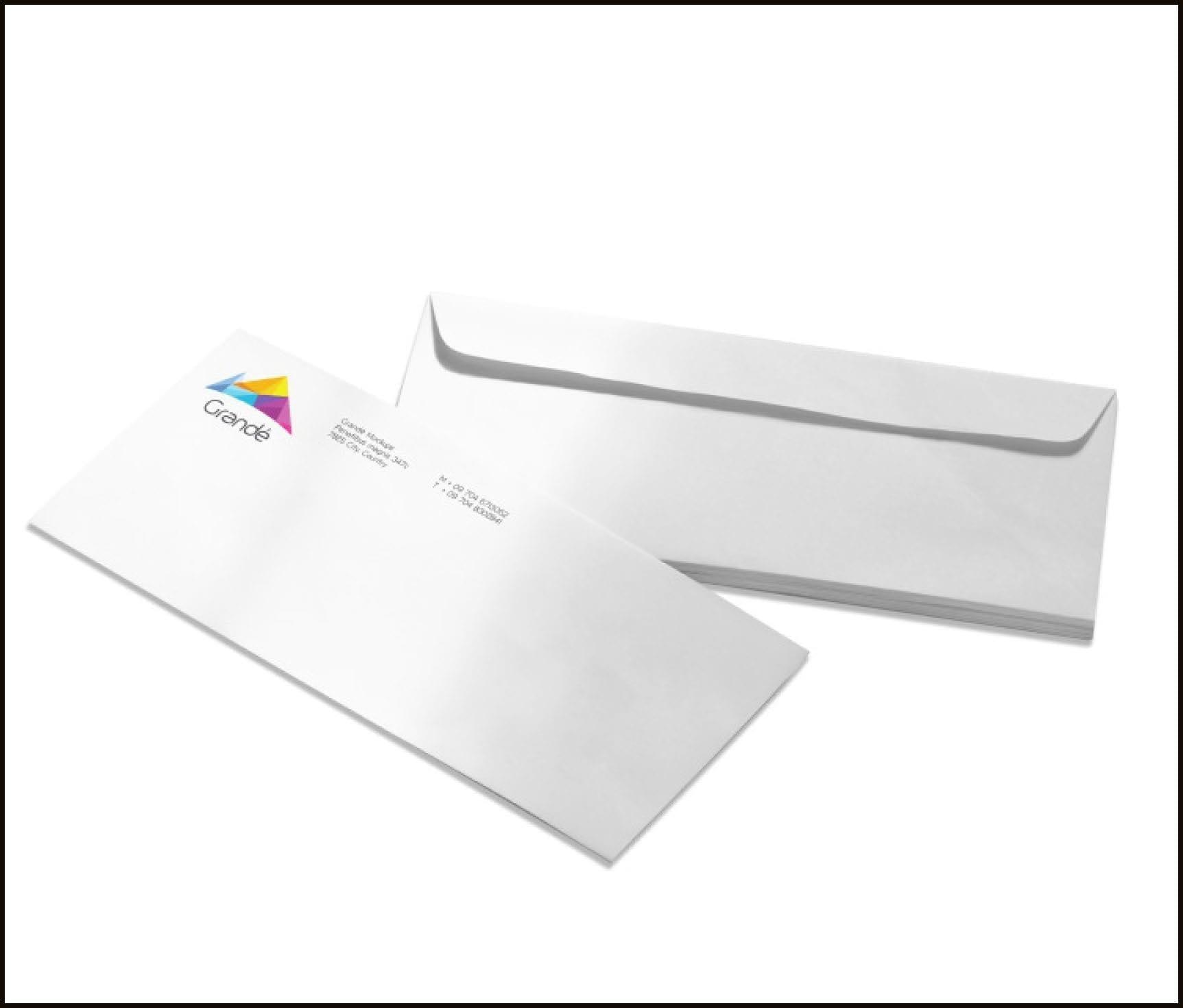 Envelope No Window
