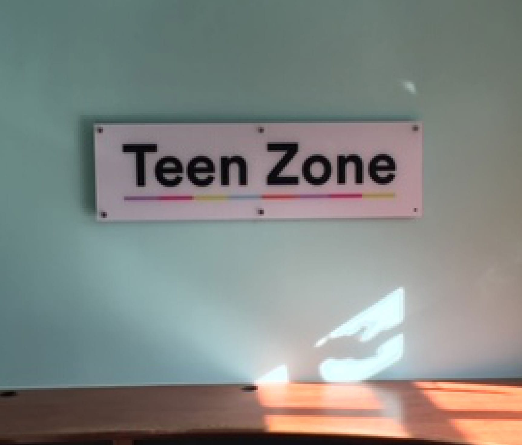 Acrylic Sign On Wall
