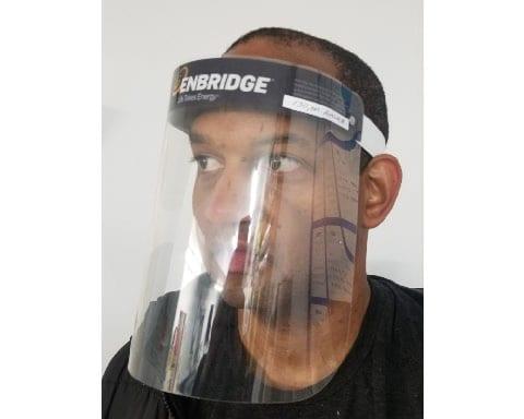 CUstom printed face shield